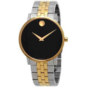dong-ho-movado-museum-classic-black-dial-mens-two-tone