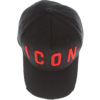 non-dsquared2-red-icon-detail-baseball-black