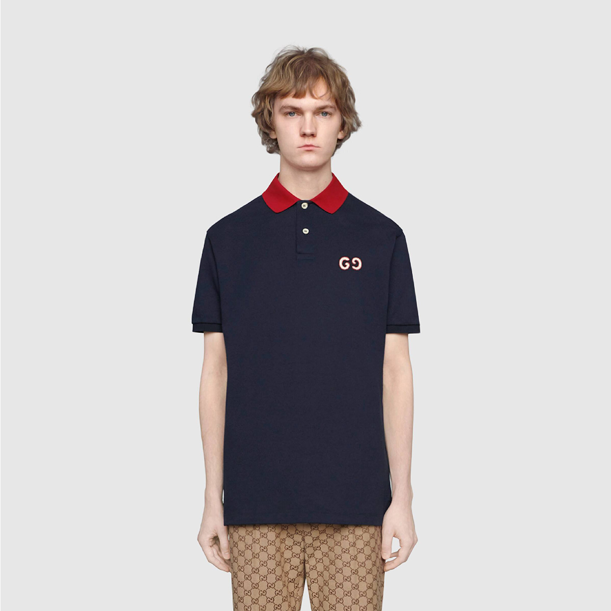 ao-polo-gucci-regular-fit-with-gg-embroidery-navy