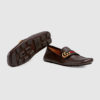 giay-moi-gucci-leather-driver-with-web-brown